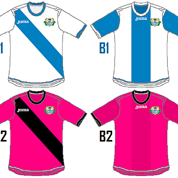 Sporting Carballino Joma Home and Away