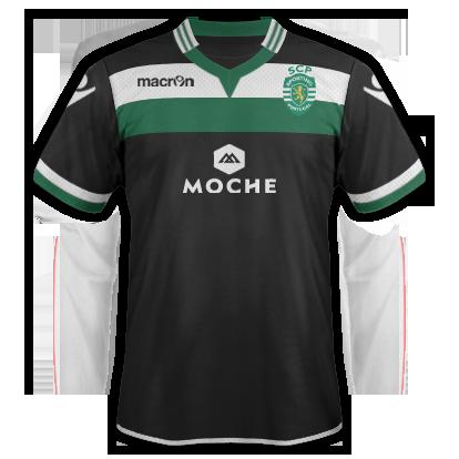 Sporting CP fantasy 2nd shirt