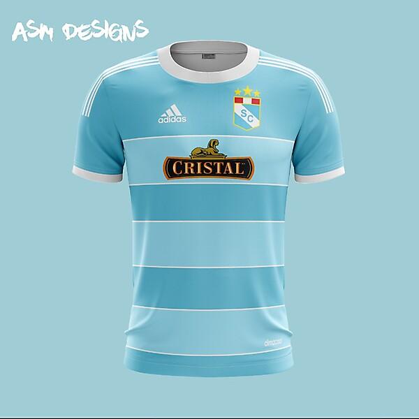 Sporting Cristal 2018 Adidas Home Kit
