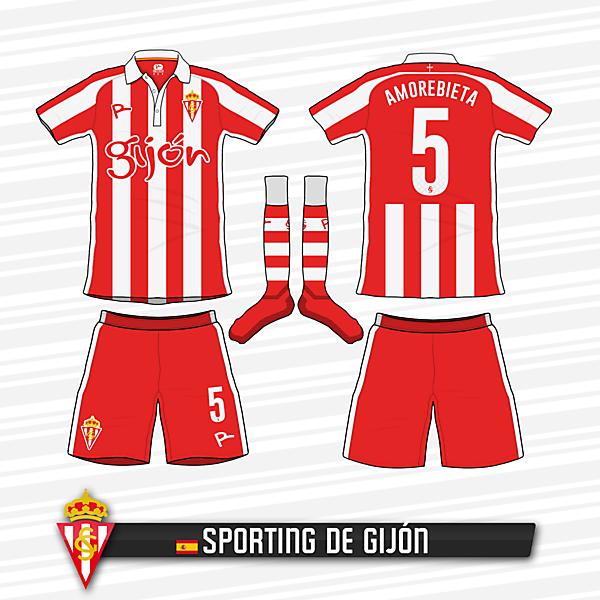 Sporting de Gijón Home Kit