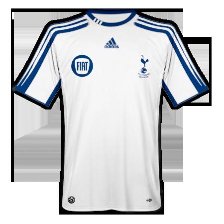 Tottenham Hotspur Home, Away and Change