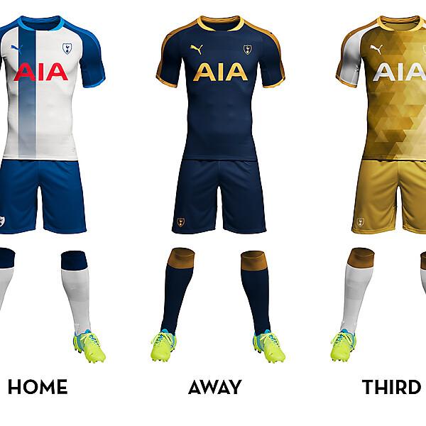 Tottenham Hotspurs Kit Concept