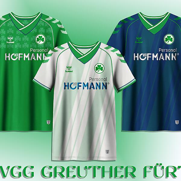 SpVgg Greuther Fürth concept kits