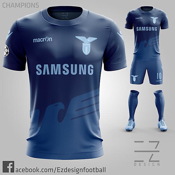 S.S Lazio Champions Third Kit