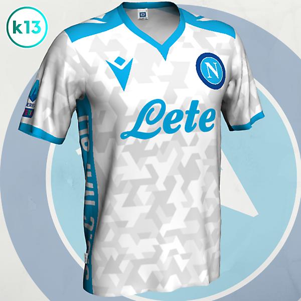 S.S.C. Napoli - Away kit