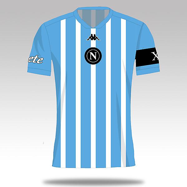 SSC Napoli x Diego Maradona