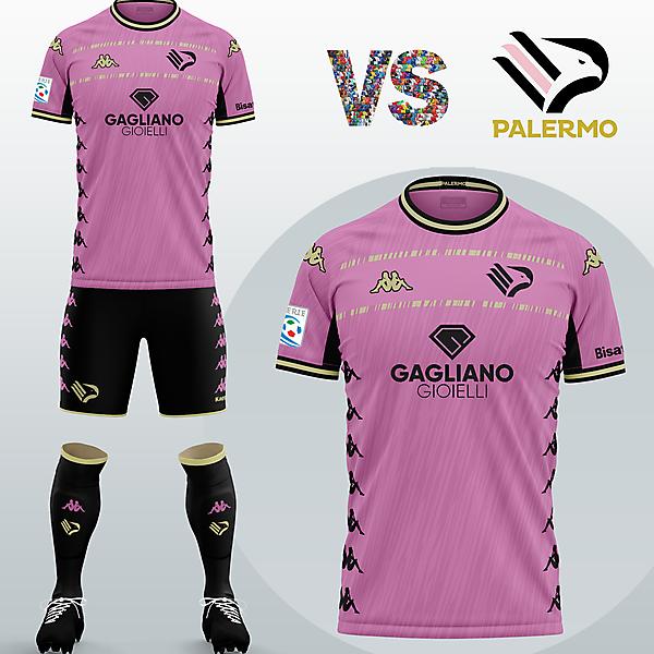 SSD Palermo Home kit with Kappa (Fantasy 2020/21)