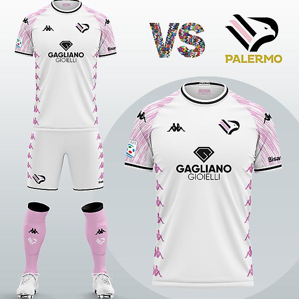 SSD Palermo Third kit with Kappa (Fantasy 2020/21)