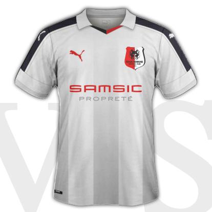 Stade Rennais fantasy Third shirt 16/17