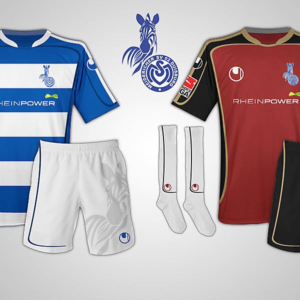 MSV Duisburg kits