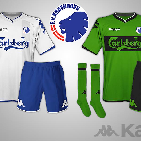 FC Copenhagen Kappa kit