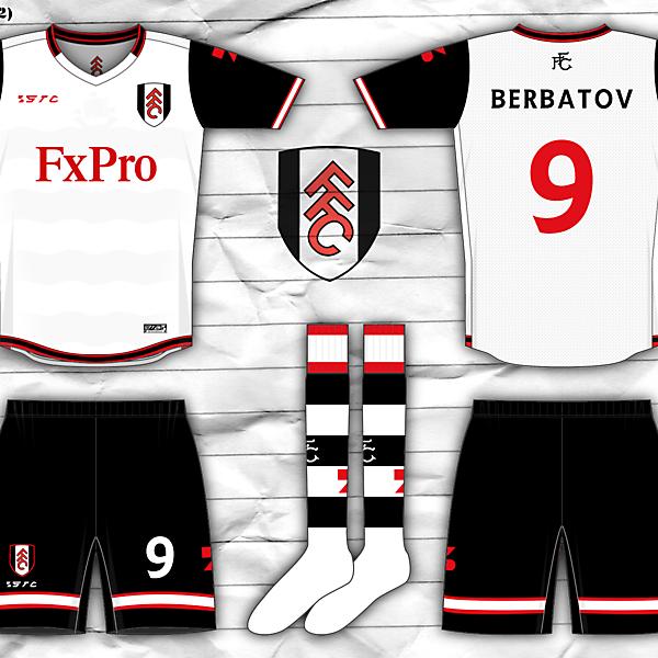 Fulham FC (Premier League - England) home kit