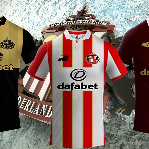 Sunderland Afc / New Balance Kits