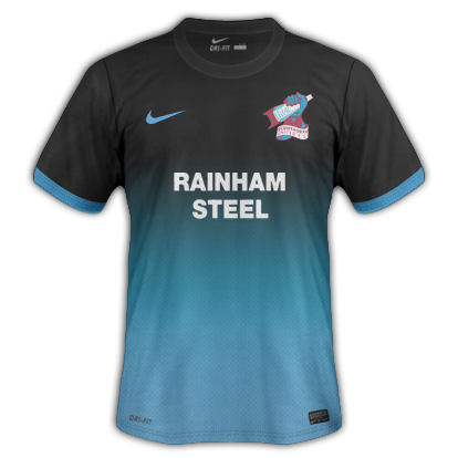 Scunthorpe kits for 2013/14