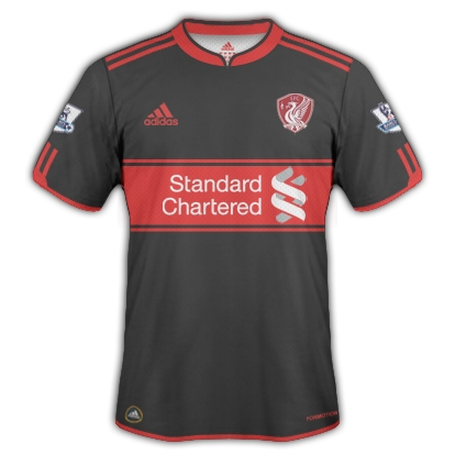 Liverpool FC 2012/2013 Away  Kit