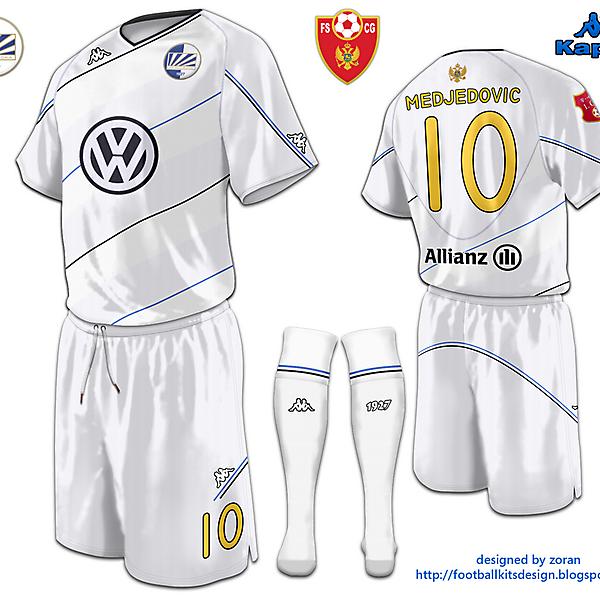 Kappa FK Sutjeska Away Shirt