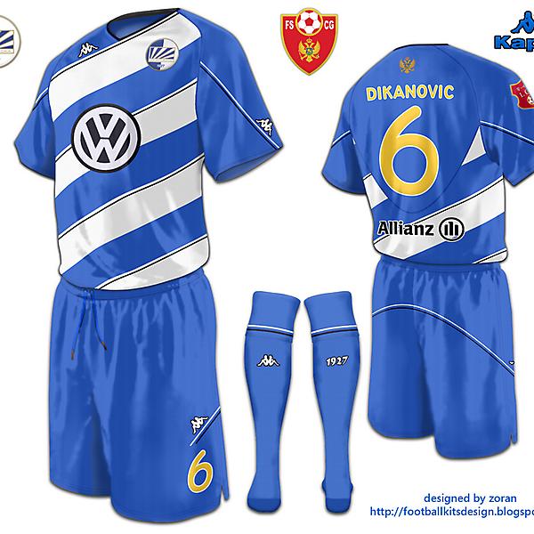 Kappa FK Sutjeska Home Shirt