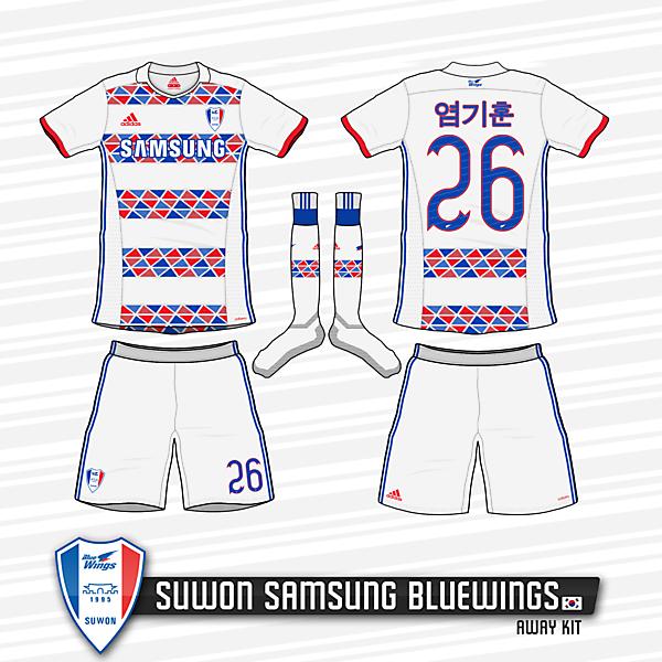 Suwon Samsung Bluewings Away Kit