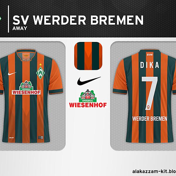 SV Werder Bremen Away