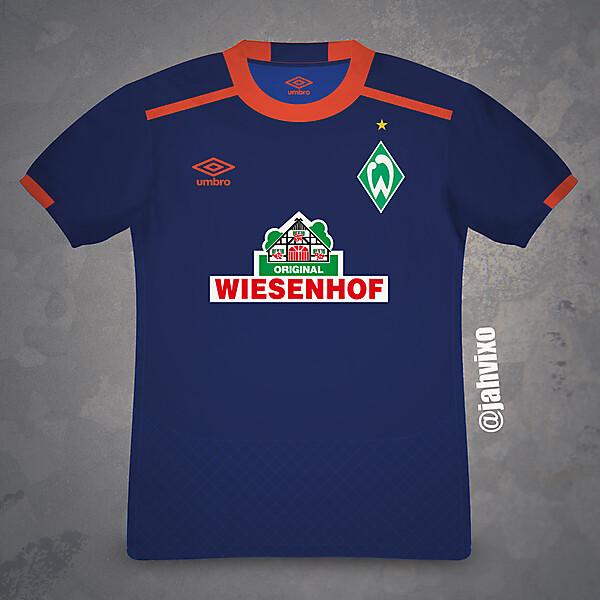 SV Werder Bremen away jersey