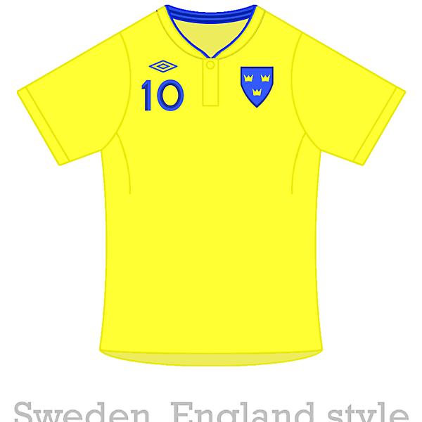 England / Sweden Template Switcheroo