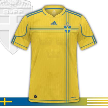 Sweden Adidas Home