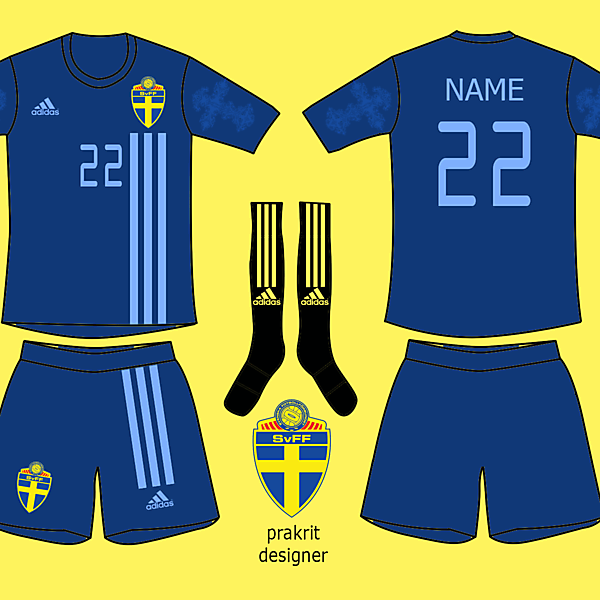 Sweden Kits Away 2017