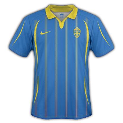 Sweden 2010 Away Shirt
