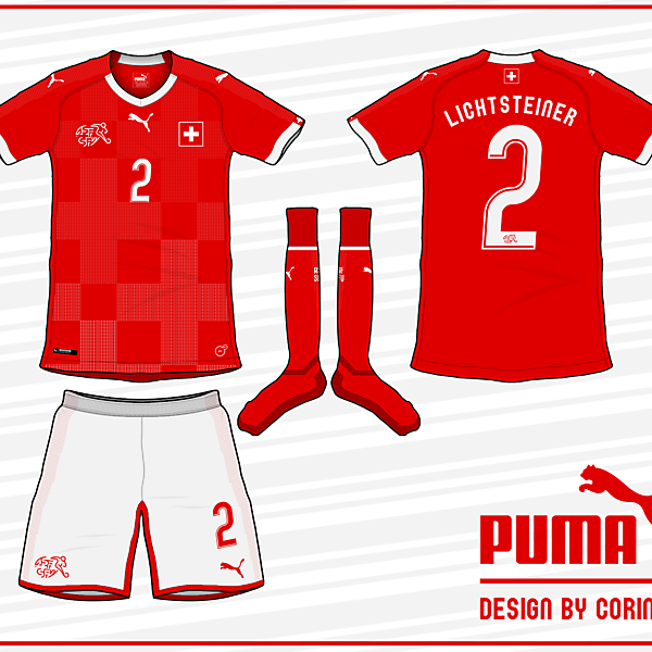 Switzerland 2018 World Cup Home Kit
