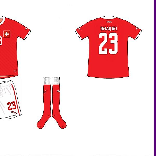 Switzerland Home Kit