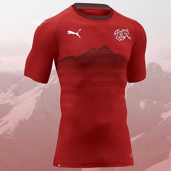 Switzerland x Puma / Home