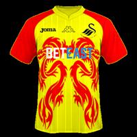 Swansea City Custom Away Kit 2017/18