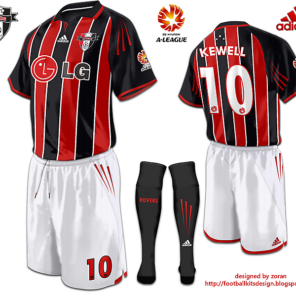 Sydney Rovers FC 2nd Home Kit