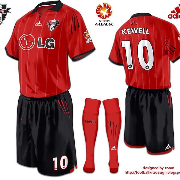 Sydney Rovers FC alternative Third Kit