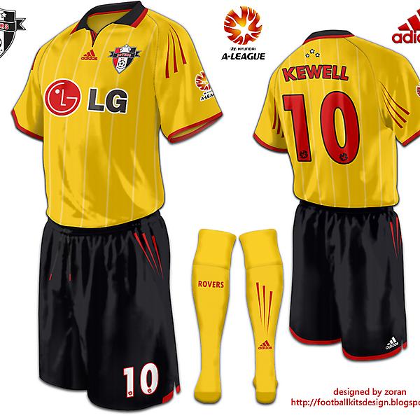 Sydney Rovers FC Third Strip