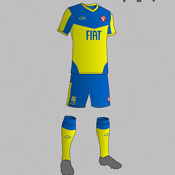 Tacuarembó (Uruguay) Third Kit 2016