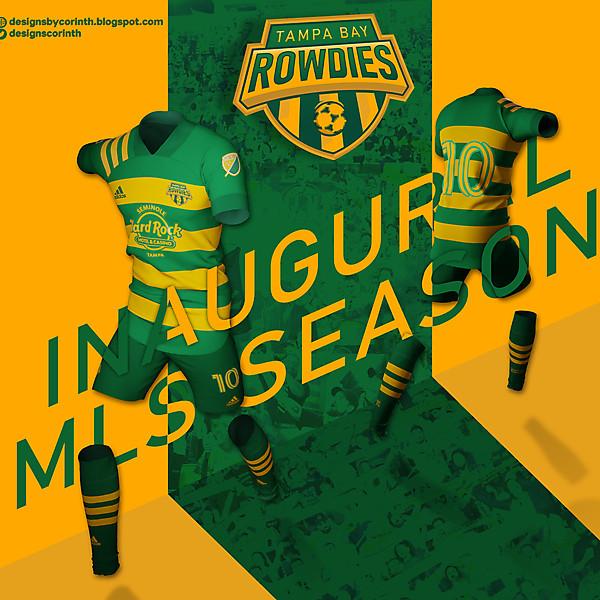 Tampa Bay Rowdies | MLS Rebranding