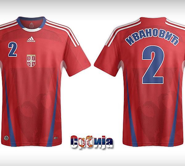 Serbian Adidas Kit