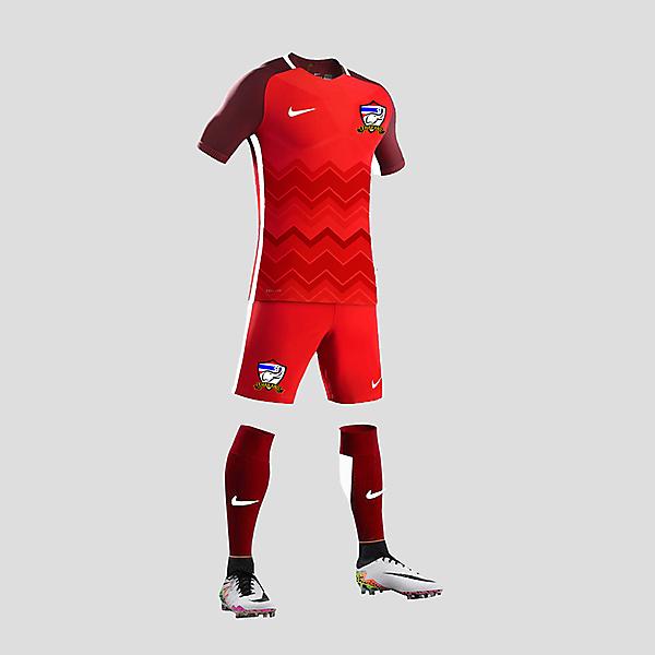 thailand football kit away 2016 designer prakrit