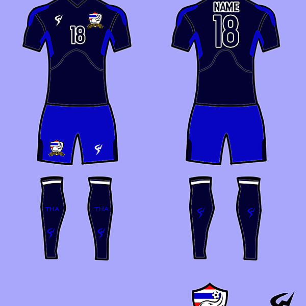 Thailand Kits Home 2017