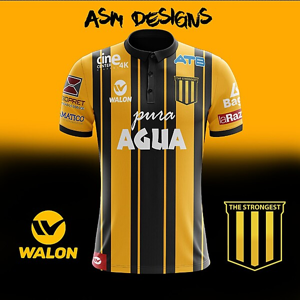 The Strongest 2018 Walon Home Kit