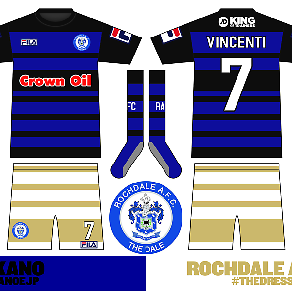 #TheDress / Rochdale Home Kit