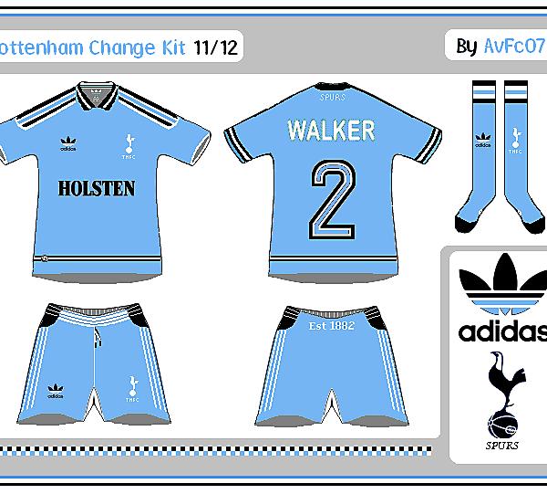 Tottenham First & Change Kits