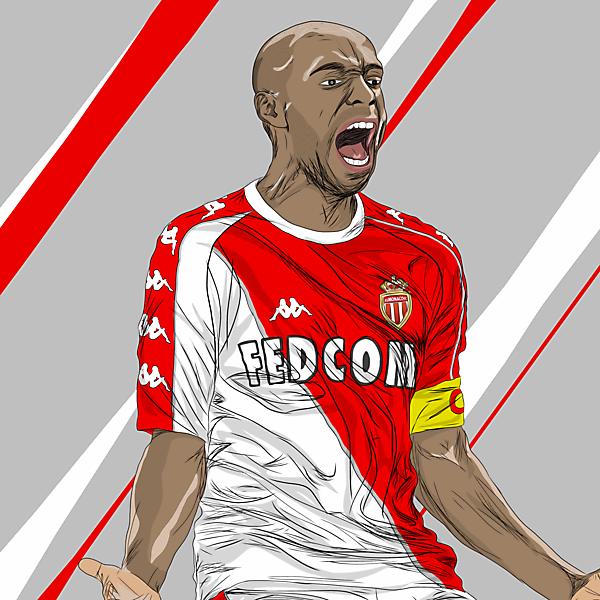 Thierry Henry x Monaco x Kappa - Home Kit