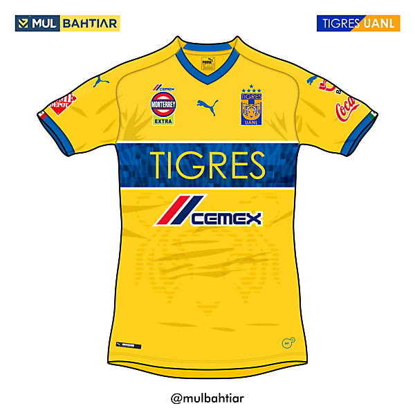 Tigres UANL 2020 Puma Home Kit Concept
