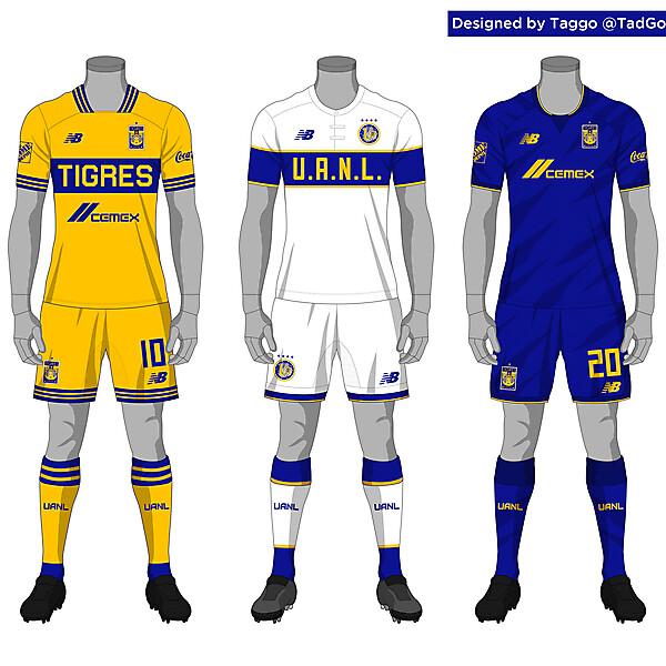 Tigres UANL kit set