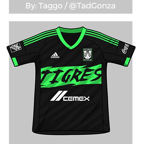 Tigres UANL Third shirt revisited