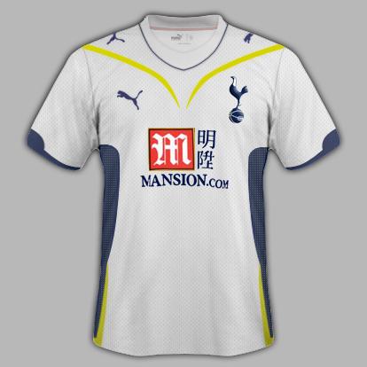 Tottenham 09/10 Home