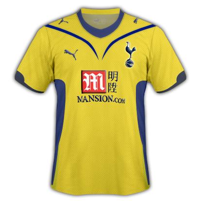Tottenham 09/10 Third