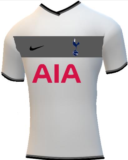 Tottenham 2020/21 Home kit Design Concept